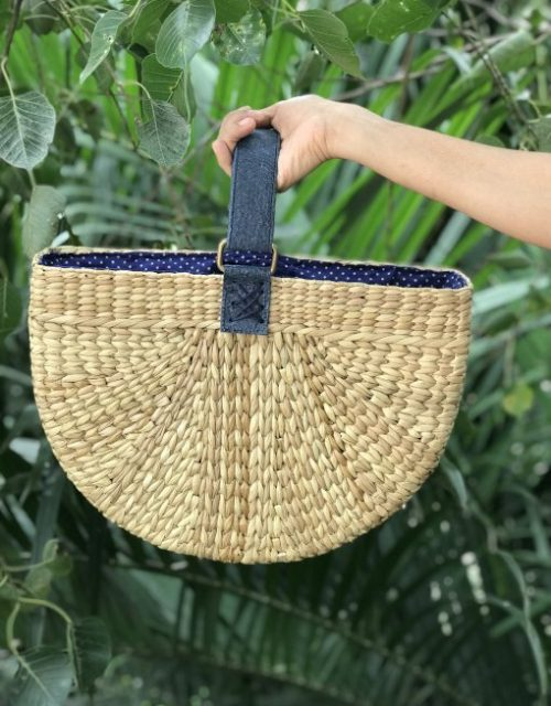 handcrafted luxury handbag - Ziba