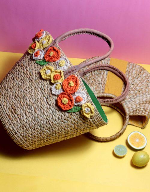 Vintage Fleur Tote Bag