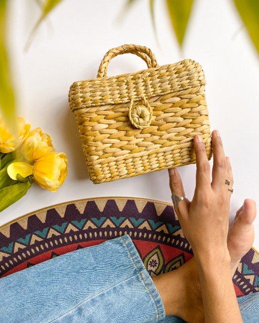 Olive Mini Box Bag